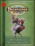 RPG Item: Pathfinder Society Scenario 3-13: Defenders of Nesting Swallow