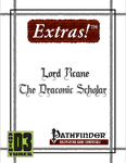 RPG Item: Extras!: Lord Rcane, The Draconic Scholar (Pathfinder)