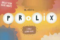 Board Game: Prolix