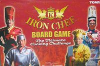 Board Game: Iron Chef Board Game: The Ultimate Cooking Challenge