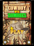 Video Game: Cowboy vs. Zombies