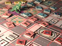 Board Game: Oh No, There Goes Tokyo!