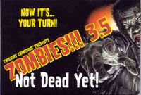 Board Game: Zombies!!! 3.5:  Not Dead Yet