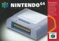 Video Game Hardware: Nintendo 64 Controller Pak