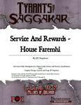 RPG Item: ToS2-04A: Service and Rewards - House Faremhi