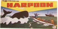 Board Game: Harpoon, The Real Whale Hunt Game