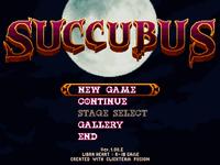 Video Game: SUCCUBUS