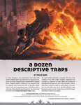 RPG Item: A Dozen Descriptive Traps