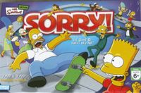 Board Game: Sorry! The Simpsons Edition
