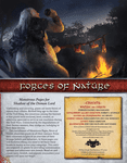 RPG Item: Forces of Nature