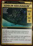"Board Game: Pathfinder Adventure Card Game: Skull & Shackles – ""Goblin Keelhaulin' "" Promo Card"