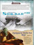 RPG Item: Sidebar #10: Equipment Tricks for Rope!