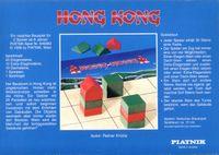 Board Game: Hong Kong