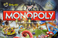 Board Game: Monopoly: Alton Towers – The Smiler