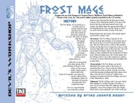 RPG Item: Frost Mage