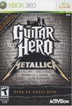 Video Game: Guitar Hero: Metallica