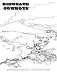 RPG Item: Dinosaur Cowboys: Rulebook