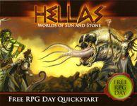 RPG Item: HELLAS: Worlds of Sun & Stone - Free RPG Day Quickstart