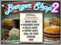 Video Game: Burger Shop 2