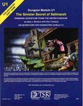 RPG Item: U1: The Sinister Secret of Saltmarsh