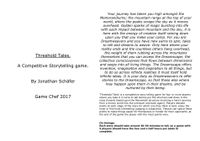 RPG Item: Threshold Tales