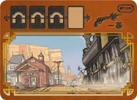 Board Game: Colt Express: Le tunnel avant l'arrivée en gare