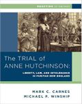 RPG Item: The Trial of Anne Hutchinson