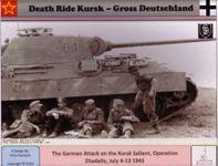Board Game: Death Ride Kursk: Gross Deutschland