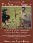 RPG Item: 1 on 1 Adventures #13: The Pearls of Pohjola