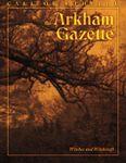 Issue: The Arkham Gazette (Issue 3 - Nov 2015)