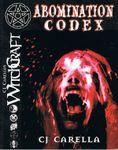RPG Item: Abomination Codex