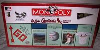 Board Game: Monopoly: St. Louis Cardinals Collector's Edition