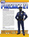 RPG Item: Supporting Cast: Precinct 21