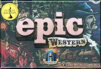 Board Game: Tiny Epic Western: Deluxe Edition