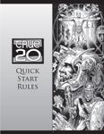 RPG Item: True20 Quick Start Rules