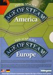 Board Game: Age of Steam Expansion: America / Europe