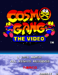 Video Game: Cosmo Gang the Video