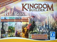 Board Game: Kingdom Builder: Big Box (second edition)