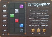 Board Game: Roll Player: Cartographer Backstory Promo Card