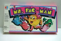 Board Game: Ms. PAC-MAN Game