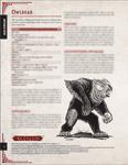 RPG Item: Aetaltis Bestiary Collection: Owlbear