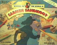 Board Game: Where in the World is Carmen Sandiego?