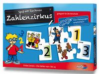 Board Game: Zahlenzirkus