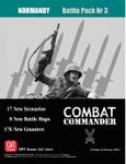 Board Game: Combat Commander: Battle Pack #3 – Normandy