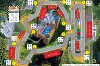 Board Game: Formula Dé Circuits 21 & 22: Budapest & Nürburgring