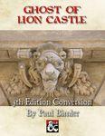 RPG Item: Ghost of Lion Castle