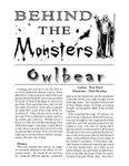 RPG Item: Owlbear