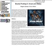 RPG Item: Bounty Postings 6: Regera Girawn, Force Witch