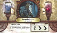 Board Game: Elder Sign: Daniela Reyes Promo Card