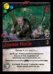 Board Game: Nightfall: Zombie Horde Promo